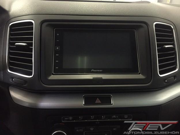 Pioneer AppRadio im VW Sharan