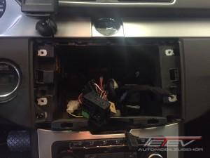 VW Passat mit ZENEC Z-E2015 2
