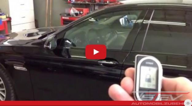 VIPER Alarm Fernstart BMW