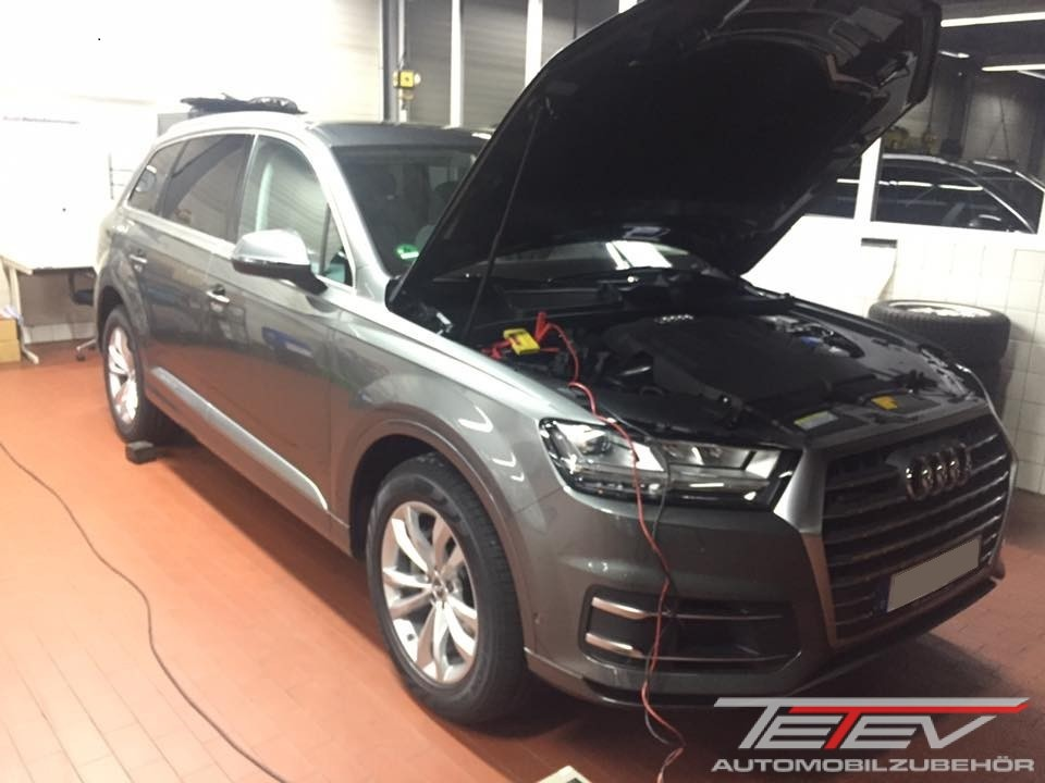 Audi Q7 CAN-Bus Alarmanlage