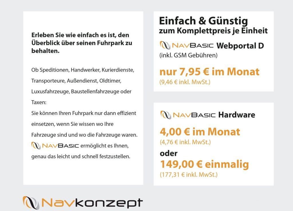 NavBasic Info