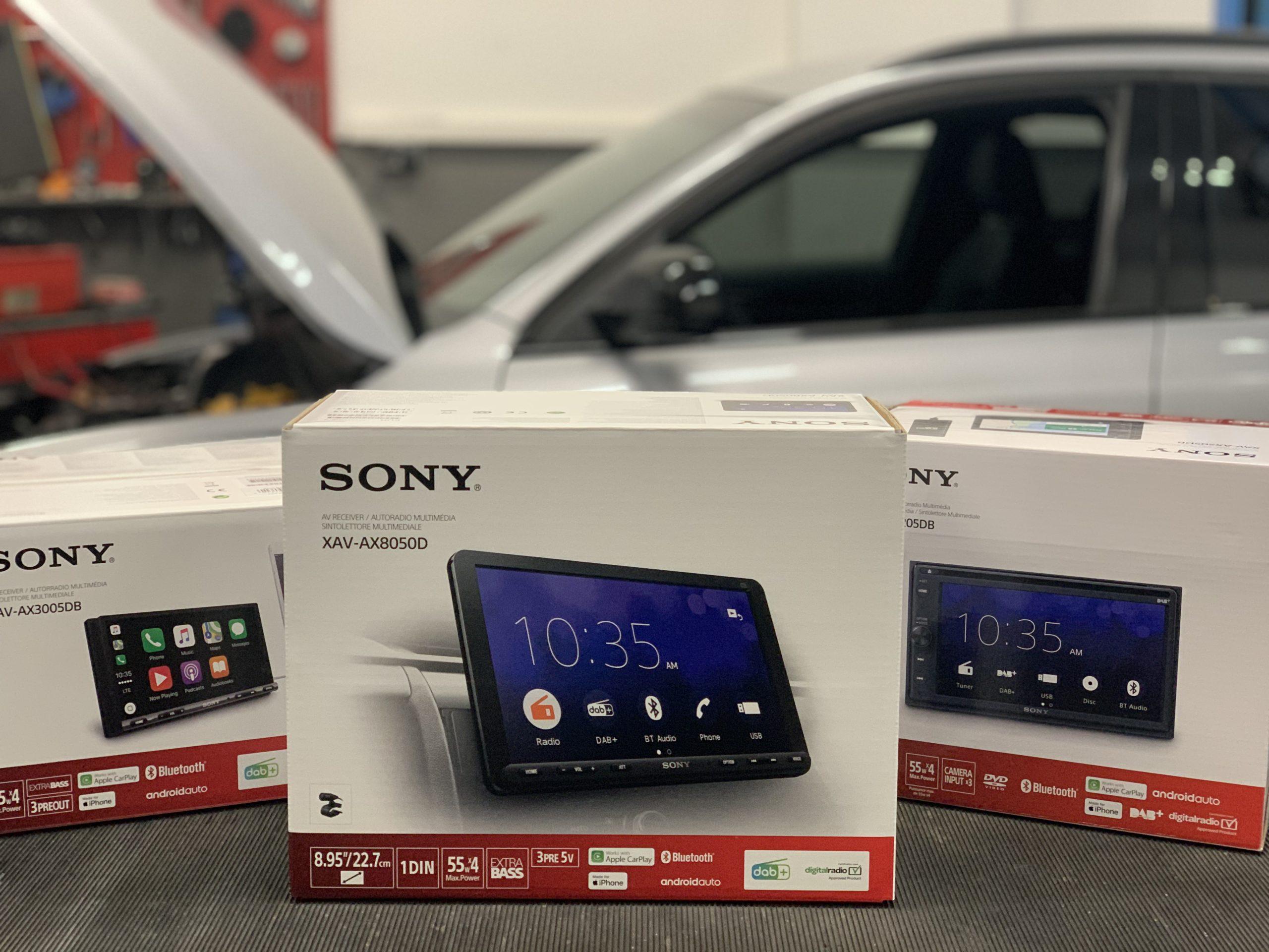 Das neue XAV-AX8050D von Sony