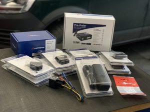 Verschiedene Produkte der Firma Thitronik